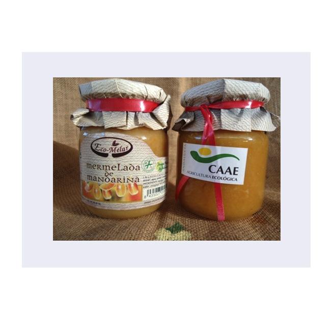 Mermelada de Mandarina Ecológica Ecomelar (300 gr.)
