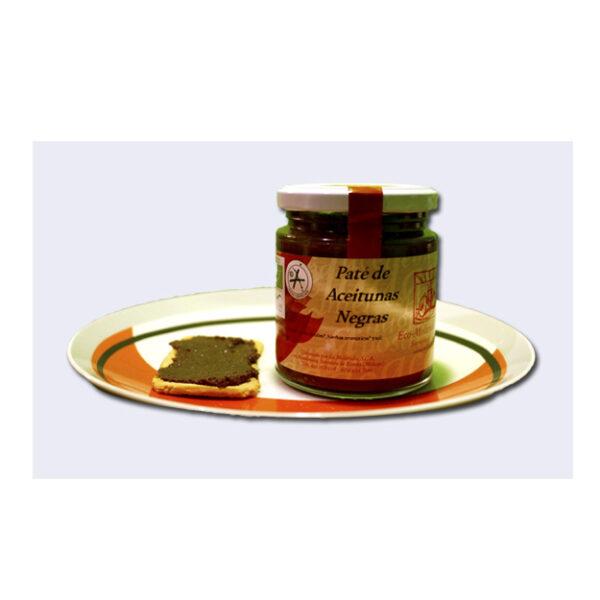 Paté de Aceitunas Negras de La Molienda Verde (Ecológico) 250 gr.-0