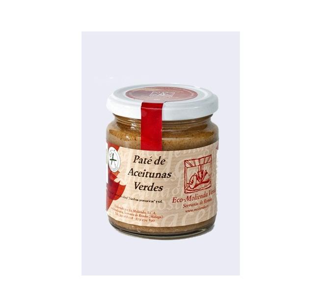 Paté de Aceitunas Verde de La Molienda Verde (Ecológico) 250 gr.-0