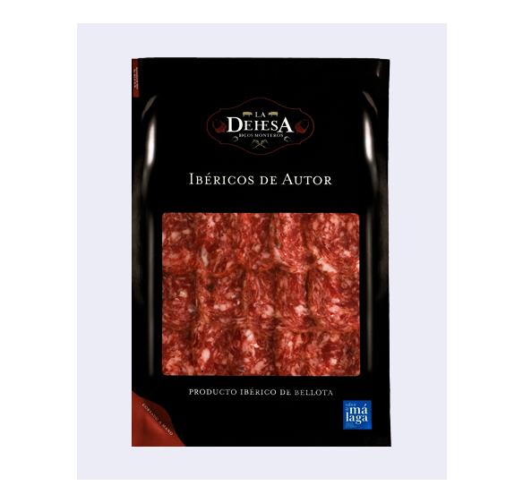 Salchichón ibérico puro de bellota loncheado - Dehesa de los Monteros (100 gr.)-0