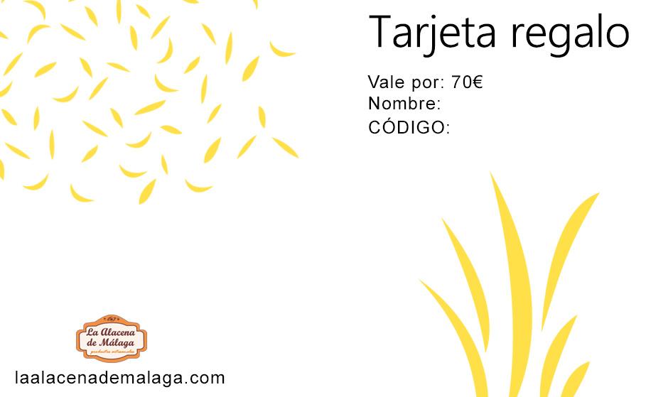Tarjeta de Regalo 70 € - La Alacena de Málaga