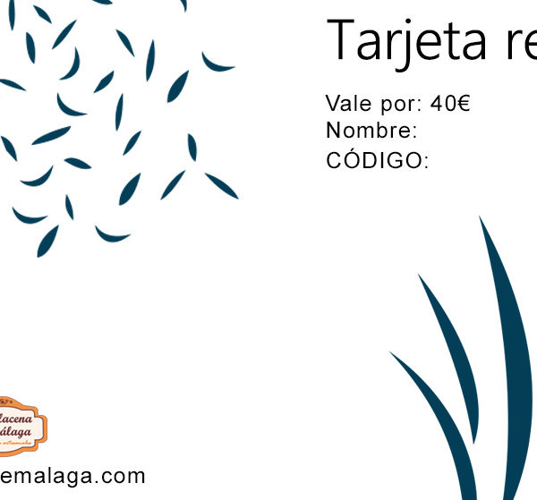 Tarjeta de Regalo 40 € - La Alacena de Málaga