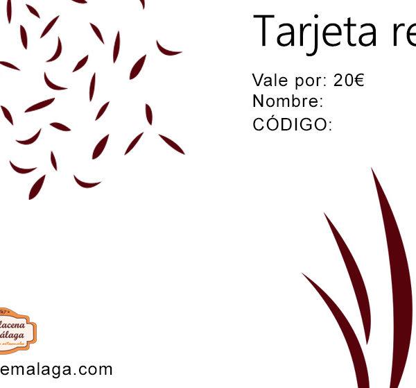 Tarjeta de Regalo 20 € - La Alacena de Málaga