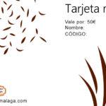Tarjeta de Regalo 50 € - La Alacena de Málaga