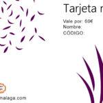 Tarjeta de Regalo 60 € - La Alacena de Málaga