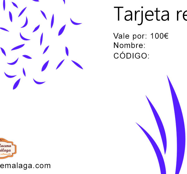 Tarjeta de Regalo 100 € - La Alacena de Málaga